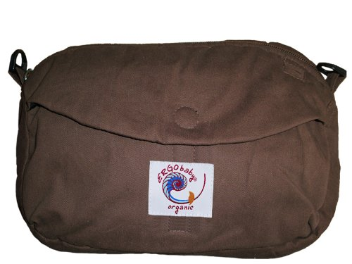 Ergobaby 25% OFF Organic Travel Pouch Dark Super sale M Discontinued Chocolate by