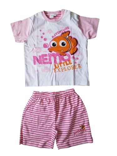 Cotone Pigiama neonata Corto alla Ricerca di Nemo Jersey Colore Confetto - Disney (24 Mesi)