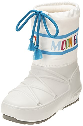 Moon Boot Pod Jr Multicolor, Stivaletti, Unisex - Bambino, Multicolore (Bianco/Multicolor), 29/30
