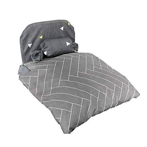 Cama para mascotas, cama para mascotas, extraíble, lavable, para mascotas pequeñas, medianas y grandes, cama de invierno