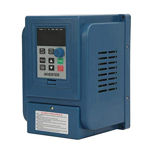 LONGWDS Controlador de Velocidad Controlador de Velocidad de la Unidad de frecuencia, 1 UNID 380VAC 6A Conducción de frecuencia Variable VFD Controlador de Velocidad para Motor de CA de 3 Fases 2.2KW