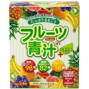 ジャパンギャルズSC『たっぷり まるごと フルーツin青汁』