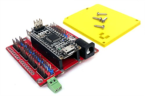 ArmUno, MeArm Robotic Arm USB Servo Controller, Arduino Compatible Programable ROBOTIO NANO Micro Controller IO Board for Hobby Servo Powered Robotic Arm Kits, Includes MeCon Software Link for Windows