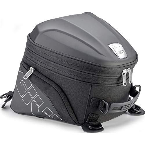 Givi ST607 Erweiterbare Hecktasche für sportliche Motorräder 22 Liter Volumen