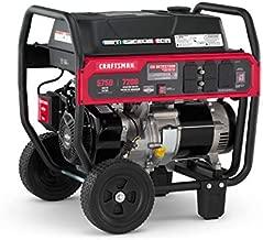 Craftsman 5750 Watt Portable Generator with CO Detection Technology, 7200 Starting Watts 5750 Running Watts, Powered by Briggs & Stratton