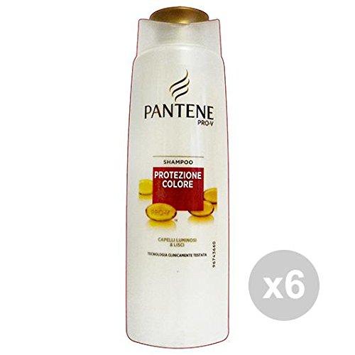 Set 6 PANTENE Shampoo 1-1 Protezione Colore 250 Ml. Prodotti per capelli