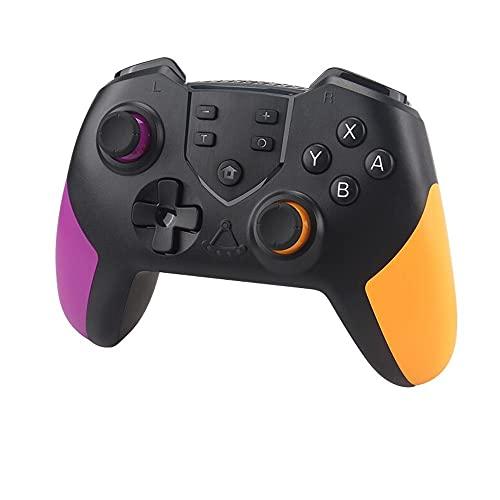 Mandos PC Mandos PS3 Inalámbricos Controlador PC Gamepad PS3 Controller PC PS3 Compatible con Windows XP Vista PS3 Android Y Operación (Color : Purple Orange)