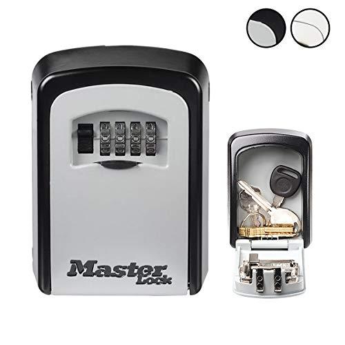 Master Lock 5401EURD Cassetta di Sicurezza/Custodia per Chiavi Select Access - Formato M - Modello Murale