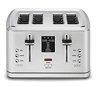 Cuisinart CPT-740 4-Slice Digital Toaster with MemorySet Feature, Silver
