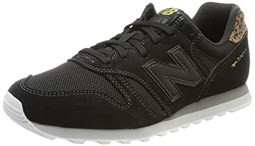New Balance 373 WL373JB2 Medium, Zapatillas Mujer, Black (Black JB2), 37 EU