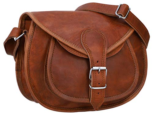Gusti Leder Nature Umhängetasche aus Leder Romy Handtasche Damen Braun M23