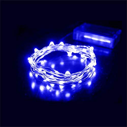 4 Mètres Extérieur et Intérieur de Fil de Cuivre LED Chaîne Lumières Guirlande Lumineuse LED Décoratives de Fête Arbre de Noël