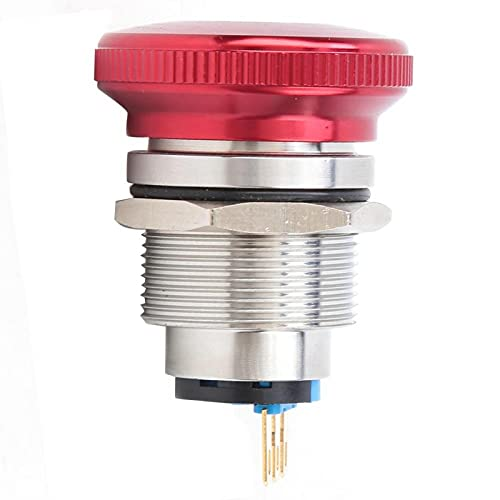 22mm BEM-22-11ZSDT Interruptor de perilla de parada de emergencia Interruptor de botón confiable para relé para arrancador electromagnético para contactor