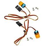 Baoblaze Luci di Stop Lampade LED di Alta qualità Illuminazione di Direzione per Radio RC...