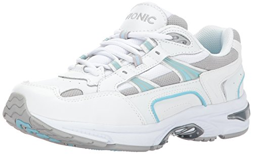 Vionic Women's Walker Classic Shoes, 9 B(M) US, White/Blue