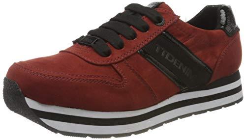 TOM TAILOR Damen 9095506 Sneaker, dkorange, 41 EU