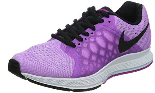 Nike Air Zoom Pegasus 31, Damen Laufschuhe Training, Purple (Fuchsia Glow/Blk/White/Antrctc), 37.5
