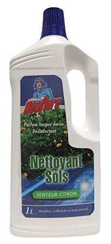 Net Flore Industria - Limpiador para suelos limón verde (1 L)
