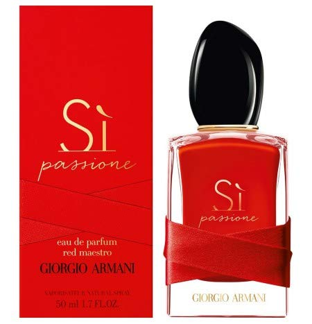 Giorgio Armani Sì Passione Intense Red Maestro femme/woman Eau de Parfum, 50 ml