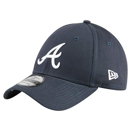 New Era 9Forty Unisex Damen Herren MLB League Essential/Brand Logo 940 Adjustable Cap Strapback Cap Baseball Cap mit 7kmh Aufkleber Blau