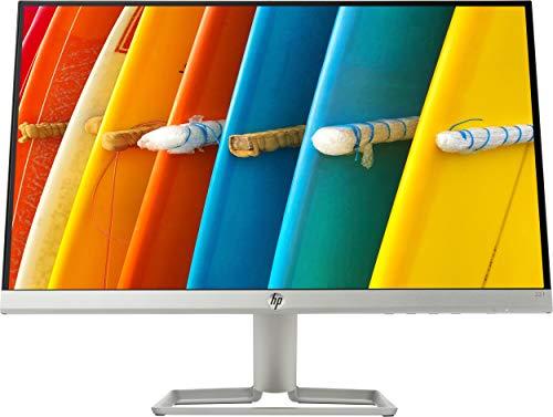 """HP - PC 22f Monitor 21.5"""" FHD 1920 x 1080 a 60 Hz, IPS, Antiriflesso, Borderless, Tempo risposta 5 ms, AMD FreeSync, Regolazione Inclinazione, Comandi su schermo, Low blue light, VGA, HDMI, Argento"""