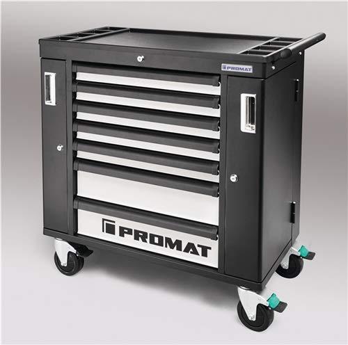 Werkzeugwagen PROFI B990xT480xH990mm 650 kg 7 Schubladen Stahlblech PROMAT
