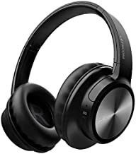 Bluetooth Headphones, Letscom Wireless Headphones Over Ear with Microphones Hands-Free Calls, Hi-Fi Sound and 3 EQ Sound Modes, 45Hrs Playtime for Cell Phones PC Tablet Home Office