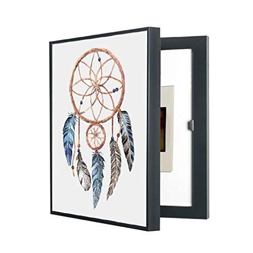 SHANCL Cuadro de medidor eléctrico Cuadro de distribución de Pintura Decorativa Cubierta Mural Moderno Minimalista Salón Pintura Interruptor Principal Caja eléctrica