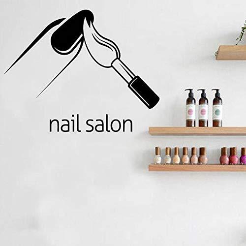 Tianpengyuanshuai muurstickers voor salon, schoonheidssalon, vinyl muurstickers, manicure, dames, cadeau voor wanddecoratie