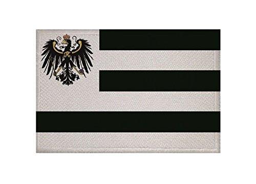 U24 Aufnäher Hohenzollern Fahne Flagge Aufbügler Patch 9 x 6 cm