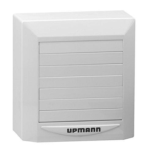 Upmann 60420 Ventilator Trendline DN 100m.Verschluß u. Zeitrelais