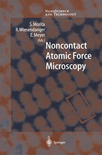Noncontact Atomic Force Microscopy (NanoScience and Technology) (English Edition)