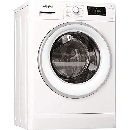 Whirlpool - Lavasciuga a libera installazione FWDG97168WS 9 Kg Classe A
