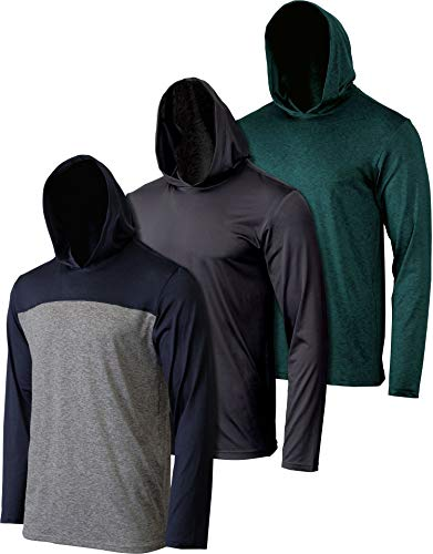 3 Pack: Mens Dry Fit Moisture Wi...