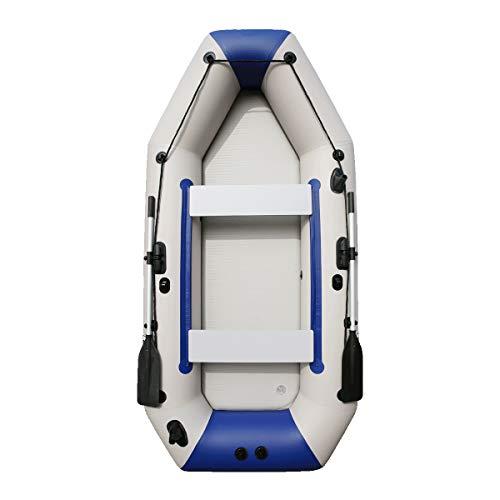 Lidauto rubberboot voor navigatie met roeien, van aluminium en het draagvermogen van de luchtpomp voor 4-5 personen