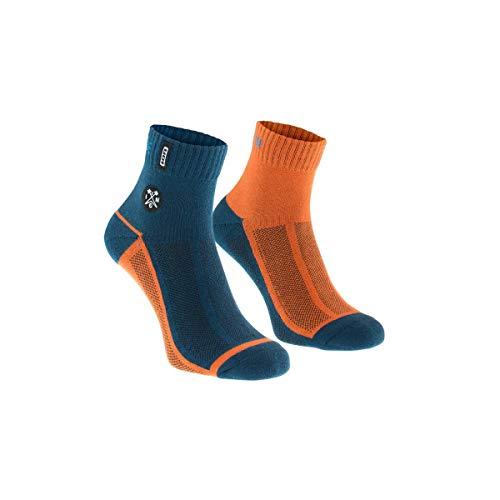 Ion Paze Fahrrad Socken blau/orange 2020: Größe: 43-46