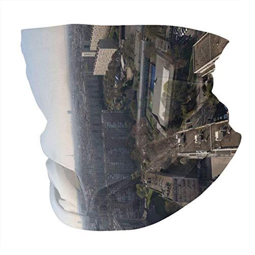 Foto aérea de la UE de la ciudad durante el día a prueba de viento, protector solar, bufanda, protección UV, pasamontañas y bandanas