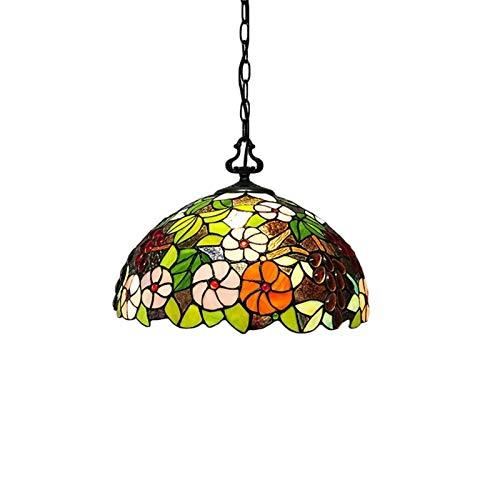 MUMUWUEUR Pantalla de lámpara de Cristal de Bohemia Pendiente de la luz Individual Colgante Colgante Ligera Espuma de Embalaje for Pasillo Pasillo Cocina