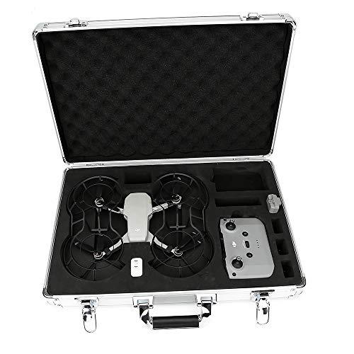 Fenmaru Estuche de Almacenamiento/Maleta de aleación de Aluminio para dji Mavic Mini 2 Drone (Silver)
