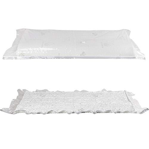 Sacchi Sottovuoto Custodia Materasso stoccaggio di compressione borsa extra grande materasso in lattice sacchetto di raccolta for Memory Foam ventilate materasso Toppers e Pads - Tri Fold (60' x 78' )