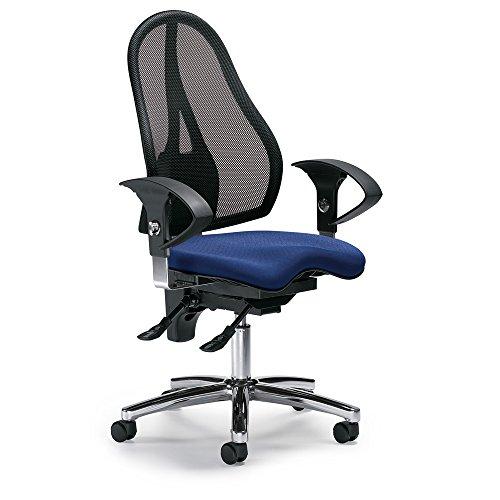 Bürodrehstuhl SITNESS 40 NET inkl. höhenverstellbarer Armlehnen