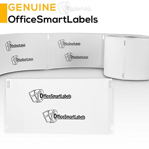 "OfficeSmartLabels - 2-1/8"" x 4"" Shipping Labels, Compatible with Dymo 30323 (6 Rolls - 240 Labels Per Roll) Photo #3"