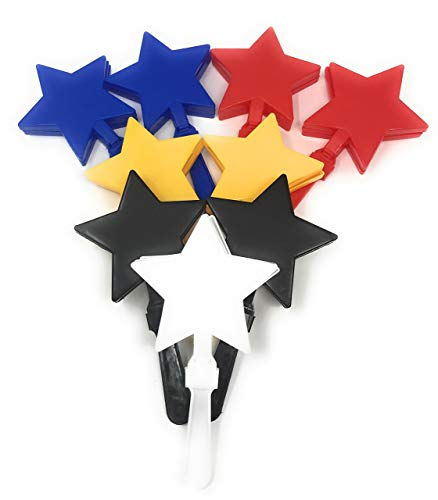 Why Should You Buy Funiverse 20 Bulk Star Hand Clapper / Team Spirit Noise Maker Assortment