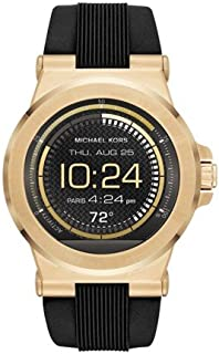 Michael Kors Access Dylan Goldtone Silicone Smartwatch, 46mm