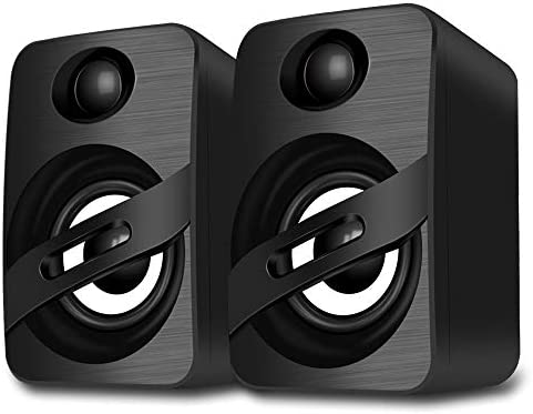 LFS USB Powered Speakers PC Speakers Wired Computer Speaker with Stereo Dynamic Sound for Desktop product image