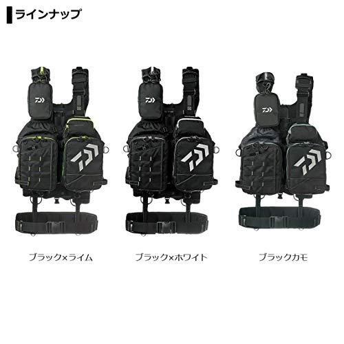 ダイワ(DAIWA)ベンチクールゲームベストIVブラック×ライムフリーDF-6109