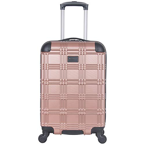 Ben Sherman Luggage Nottingham 20quot Embossed PAP 4Wheel CarryOn