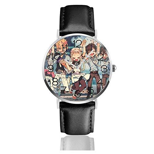 Los niños Miran Reloj Pulsera niño Historieta 3D Impermeable Hanako-kun Pantalla Redonda 38mm Batería de botón Poder