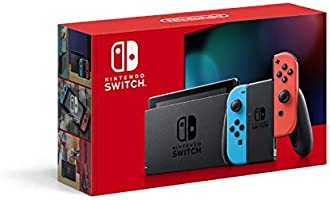 任天堂 Nintendo Switch主机 Joy-Con (L)霓虹蓝/(R)霓虹红(电池持续时间长款)