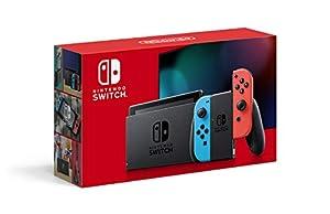 【マリオ35周年キャンペーン対象】Nintendo Switch 本体 (ニンテンドースイッチ) Joy-Con(L) ネオンブルー/(R) ネオンレッド